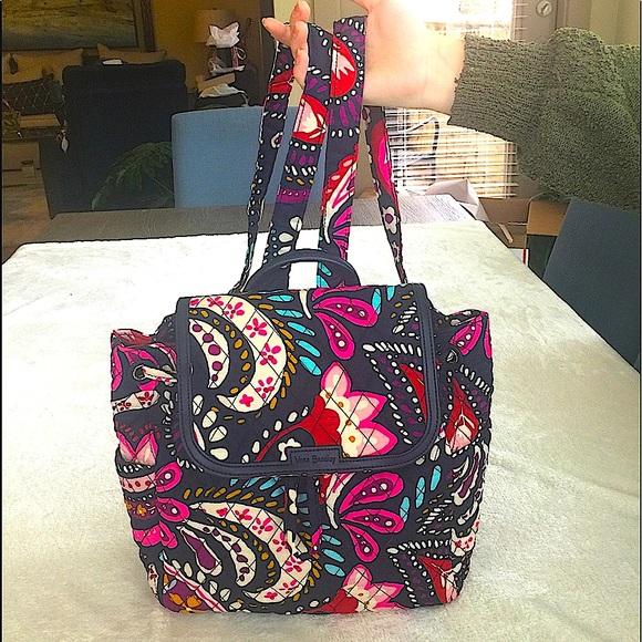 Vera Bradley  Fun Color Backpack Purse- NWT